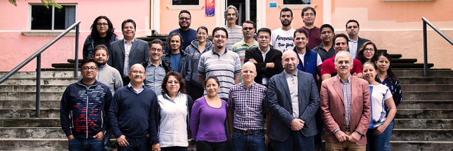 SmartSDK project meeting in Puebla, Mexico