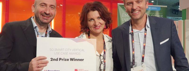 SmartSDK wins 5G award